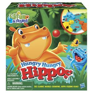 Hasbro Elefun & Friends Hungry Hungry Hippos Game