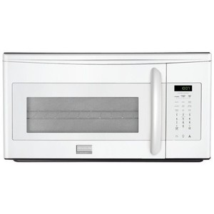 Frigidaire FGMV153CL 1.5 Cubic Foot Over-The-Range Microwave Oven with Convection Option and Express-, White