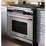 Dacor Epicure 36 In. Stainless Steel Freestanding Dual Fuel Range - ER36DSCHNGH